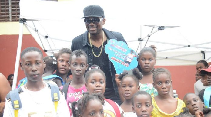 Busy Signal Host Back To School Treat In St Ann