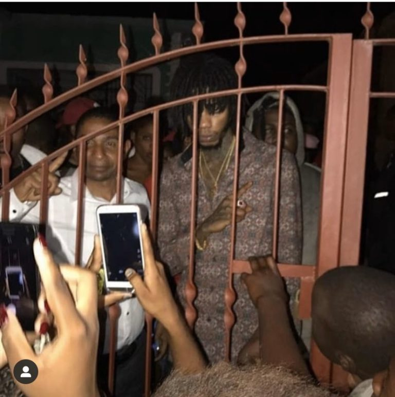 Alkaline Returns To Twitter, Posts Image With Kingston Mayor Delroy Williams