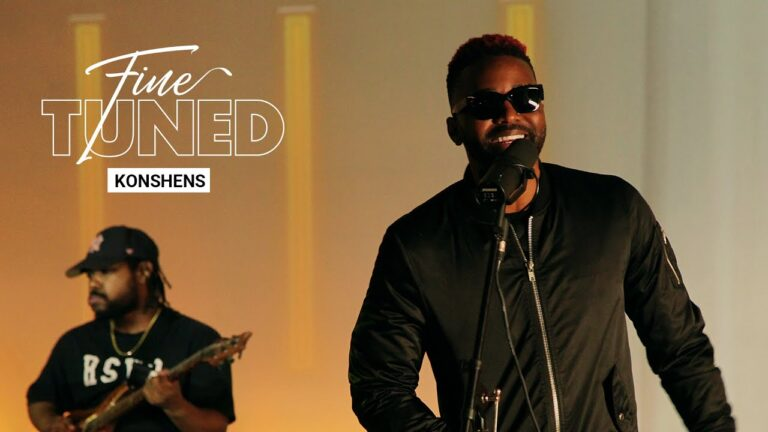 Konshens Drops 'Fine Tuned' Performance Ahead Of New Album 'Red Reign'