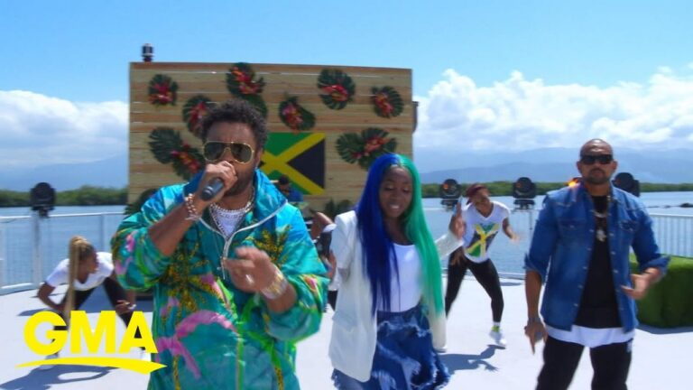 Watch Shaggy, Sean Paul and Spice perform 'Go Down Deh' On GMA #SummerConcertSeries